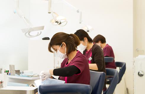 博多区麦野かさい歯科スタッフ